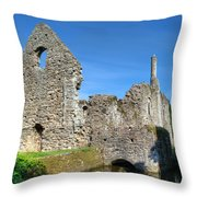 Constables House Revisited Throw Pillow