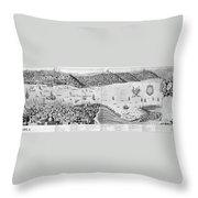 Constantinople, 1713 Throw Pillow