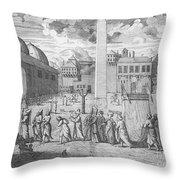 Constantinople, 1727 Throw Pillow