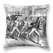 Constantinople Firemen Throw Pillow