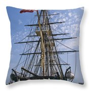 Constitution Stern Throw Pillow