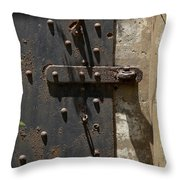 Contents Unknown Throw Pillow