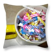 Contest  45 Candles Birthday 12 24 2010 Throw Pillow