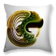 Continuous Agitation Throw Pillow