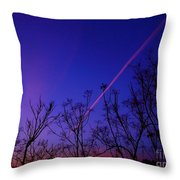 Contrail Contrast Throw Pillow
