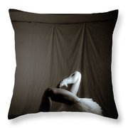 Contrasting Geometry Throw Pillow