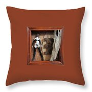 Controversy Throw Pillow