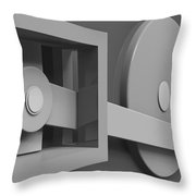 Conversion Throw Pillow