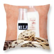 Cookies And Cream Throw Pillow