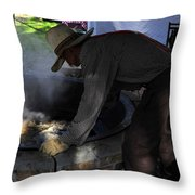 Cooking Cane Throw Pillow