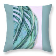 Cool Curves Throw Pillow