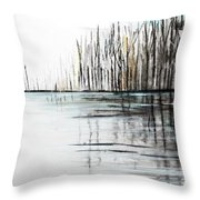 Cool Day Throw Pillow
