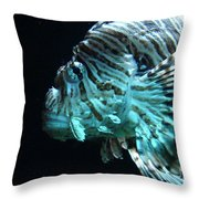 Cool Fish Throw Pillow