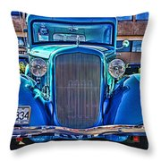 Cool Front End Hdr Throw Pillow