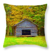 Cool Springs Church Throw Pillow