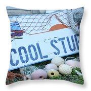 Cool Stuff Throw Pillow
