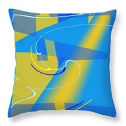 Coolbluelines Throw Pillow