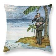 Coolidge: Nicaragua, 1928 Throw Pillow