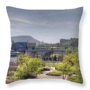 Coolidge Park Throw Pillow