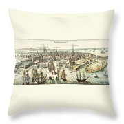 Copenhagen, C1700 Throw Pillow