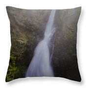 Copper Creek Falls Throw Pillow