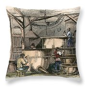 Coppersmiths, C1865 Throw Pillow