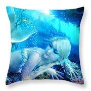 Coral Dreams Throw Pillow