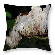 Coral Mushroom 2 Throw Pillow