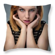 Coral1 Throw Pillow