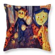 Coraline Circus Throw Pillow