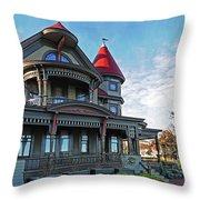 Corbin Norton House Marthas Vineyard Throw Pillow