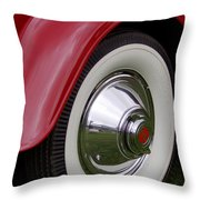 Cord Fender Throw Pillow