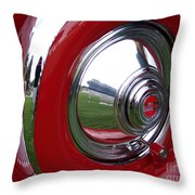 Cord Hubcap Throw Pillow