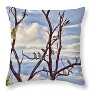 Corella Tree Throw Pillow
