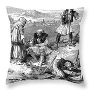 Corinth: Grave Robbers Throw Pillow