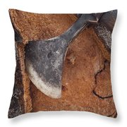 Cork Oak Quercus Suber Bark Throw Pillow