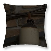 Corked White Lightning 13 Throw Pillow