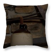 Corked White Lightning 9 Throw Pillow