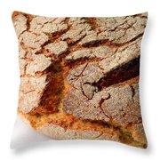 Corn Bread Throw Pillow