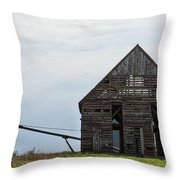 Corncrib Throw Pillow