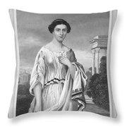 Cornelia (fl. 2nd Century Throw Pillow