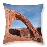 Corona Arch Throw Pillow by Bob and Nancy Kendrick