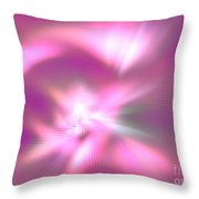 Corona Borealis Throw Pillow