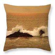 Corona Del Mar 4 Throw Pillow