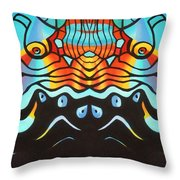 Corporate Business As Usual Throw Pillow