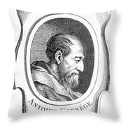 Correggio (c1489-1534) Throw Pillow