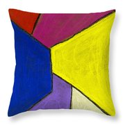 Corridor Throw Pillow