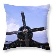 Corsair Nose Throw Pillow