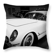 Corvette 55 Convertible Throw Pillow
