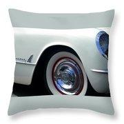Corvette Cherokee Throw Pillow